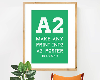 A2 print poster